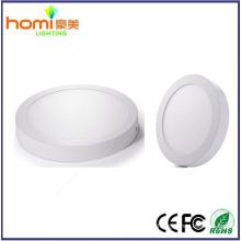 24W 80lm/w, superficie redonda led controlador de IC luz panel CE serie 2 años de garantía