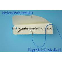 Chirurgische Naht mit Nadel - Nylon Monofilament Nicht absorbierbare Naht