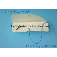 Surgical Suture with Needle - Nylon Monofilament Non Absorbable Suture
