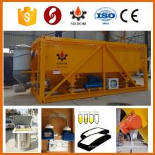 Silo de ciment horizontale de type conteneur, silo de ciment de 20 tonnes