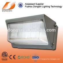 ETL listed outdoor led wall pack 60w US standard wall lighting fixture