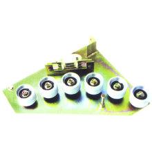 Componentes da escada rolante, suporte de rolo para escada rolante