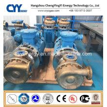 Haute qualité et faible prix Transfert de liquide cryogénique Transfert d'oxygène Nitrogen Argon Pompe centrifuge à l'huile de refroidissement