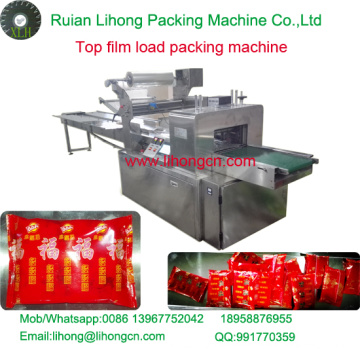 Gzb-350A High Speed Pillow-Type Biscuit Top Film Wrapping Machine