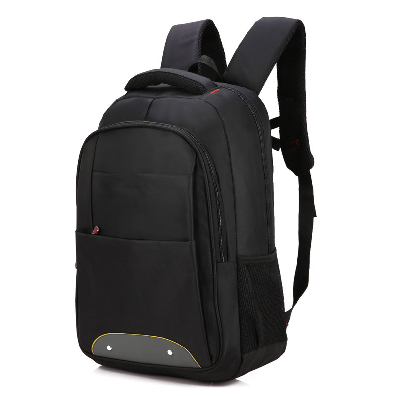 black backpack bag