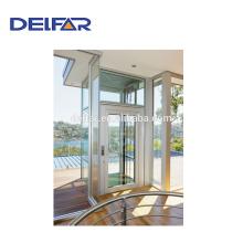 Delfar Villa Aufzug mit bestem Preis für den Hausgebrauch und Glaswand