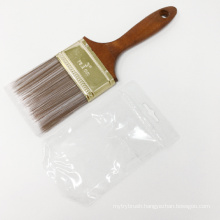 High Quality Soft Solid Round Tapered Filament Paint Bruses Wood handle paint brushes
