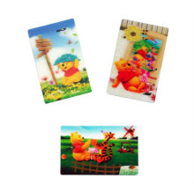 High Qualityt Print Custom Lenticular Sticker