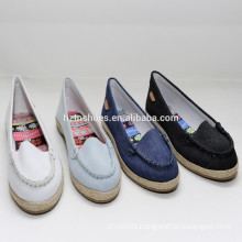 Canvas fashion women casual shoes imported from china women casual shoes