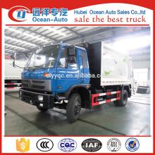 Dongfeng 10cbm compresión vehículo de basura venta