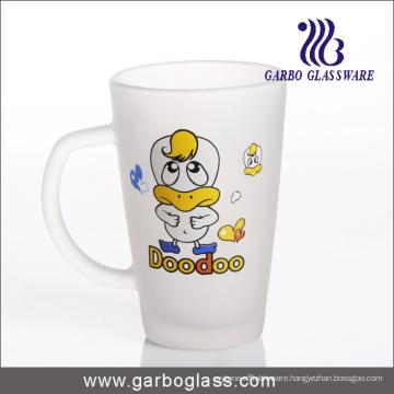 Decal Glass Mug/Cup, Printed Glass Mug/Cup, Imprint Glass Mug (GB094212-DR-107)