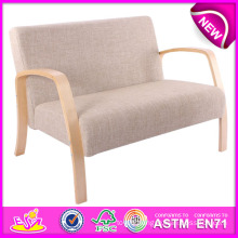 Modern Design Living Room Sofa Chairs, Fashion Comfortable Wooden Sofa Chair, Hot Sale Wooden Toy Sofa Chair W08f031