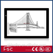 dimmable slim led tattoo tracing light board A3 for construction design