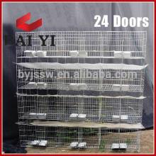 Cages de lapin en métal à 3 niveaux