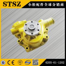 Komatsu pièces d'origine PC78US-6 pompe à eau 6205-61-1202