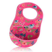Daily Use Custom Neoprene Soft Disposable Bib (SNBB05)