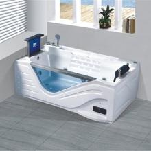 Переносная отдельно стоящая ванна премиум-класса большого размера