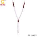 Ожерелье из пресноводного жемчуга, сделанное в Китае