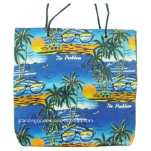 Non-Woven Printing Tote Bag with Cord Handles