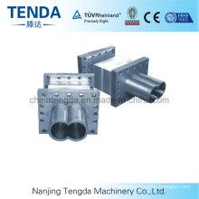 PP Doppelschneckenextruderzylinder für die Kunststoffindustrie
