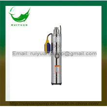 370W 0.5 HP completo aços inoxidáveis GDR submersível, bomba de parafuso com interruptor de boia de fio de alumínio