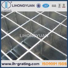 INMERSIÓN caliente galvanizada acero rejillas para piso