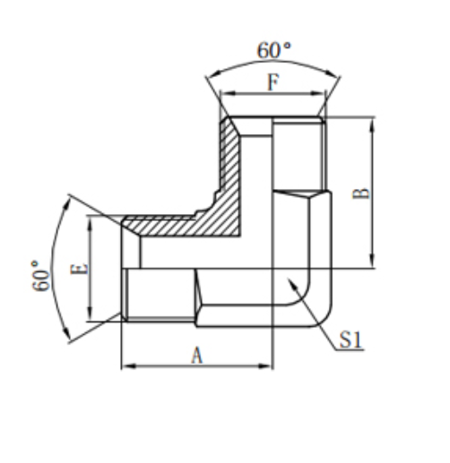 Hydraulic Bsp Elbow