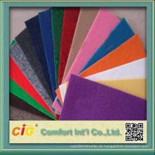 Polyester Material Bodenbelag Teppich für Bodenbelag Verwendung