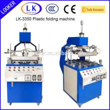 Novo design de plástico máquina de dobrar para blister de plástico, garra