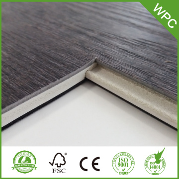7mm Waterproof Vinyl WPC Flooring dengan xpe