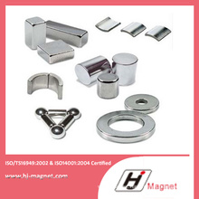 High Power Strong Neodymium Disc/Cylinder/Block/Arc Magnet with High Quality From China Factory