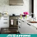 Popular European Style White Lacquer Kitchen Cabinet Furniture (AIS-K856)