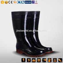 CE S5 China New Rubber & PVC Rain Boot & PVC one time injection boots