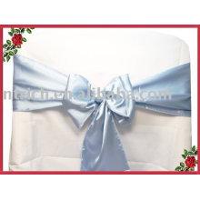 Ceintures, ceintures de satin, chaise ceintures cravates/enveloppements, bleu