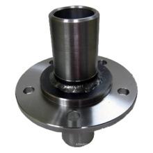 Parte de la máquina del CNC por la soldadura