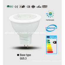 Bulbo de Dimmable LED MR16/Jcdr-Sbl