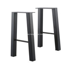 Patas de mesa de café de banco de hierro Black Industry