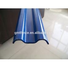 Металлический забор из оцинкованной стали