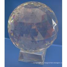 Boule de facette en verre transparent de 50 mm