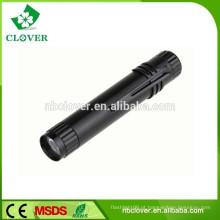 Interruptor de ligar / desligar 1 * bateria AAA 1 levou mini única caneta em forma de luz led tocha