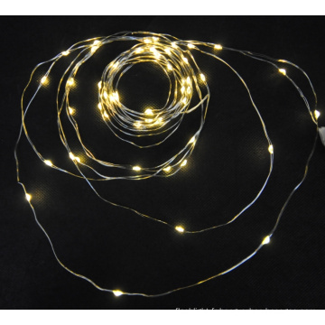 Micro conduit la lumière de cuivre / guirlandes