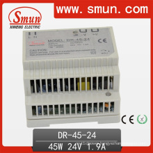 DIN Rail Switching Power Supply 45W Single Output 24V1.9A