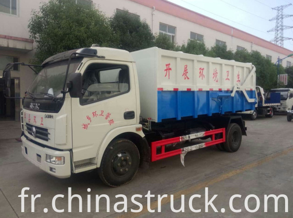 6Ton dumper waste collect truck