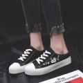 Zapatos Flor Parche bordado Zapatillas Con cordones Moda