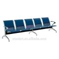 hôpital en acier enduit de poudre / clinique attente chaise