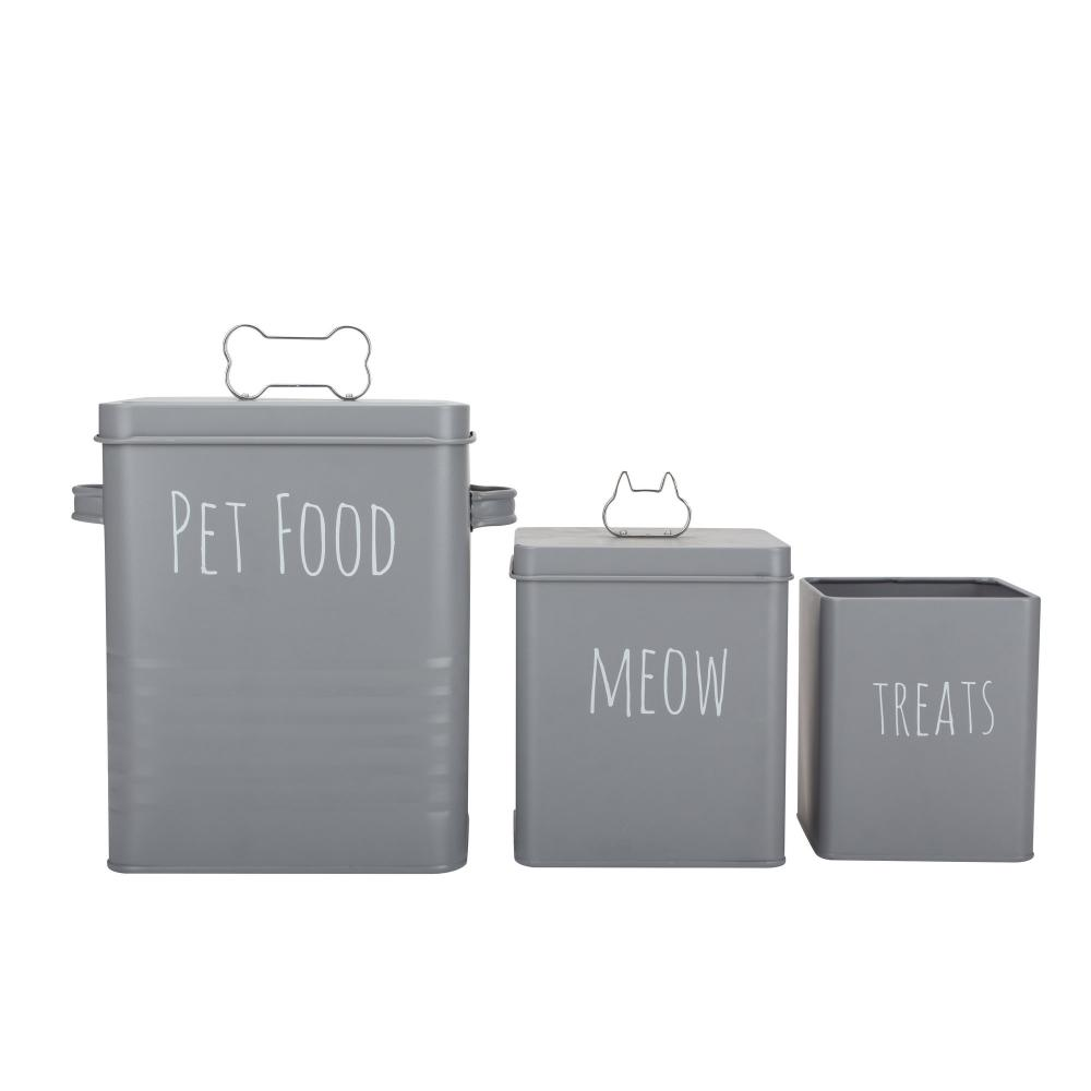 Pet Food Storage Container Set 3