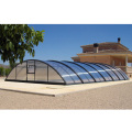 Automatic Retractable Swimming Pool Covers Enclosure