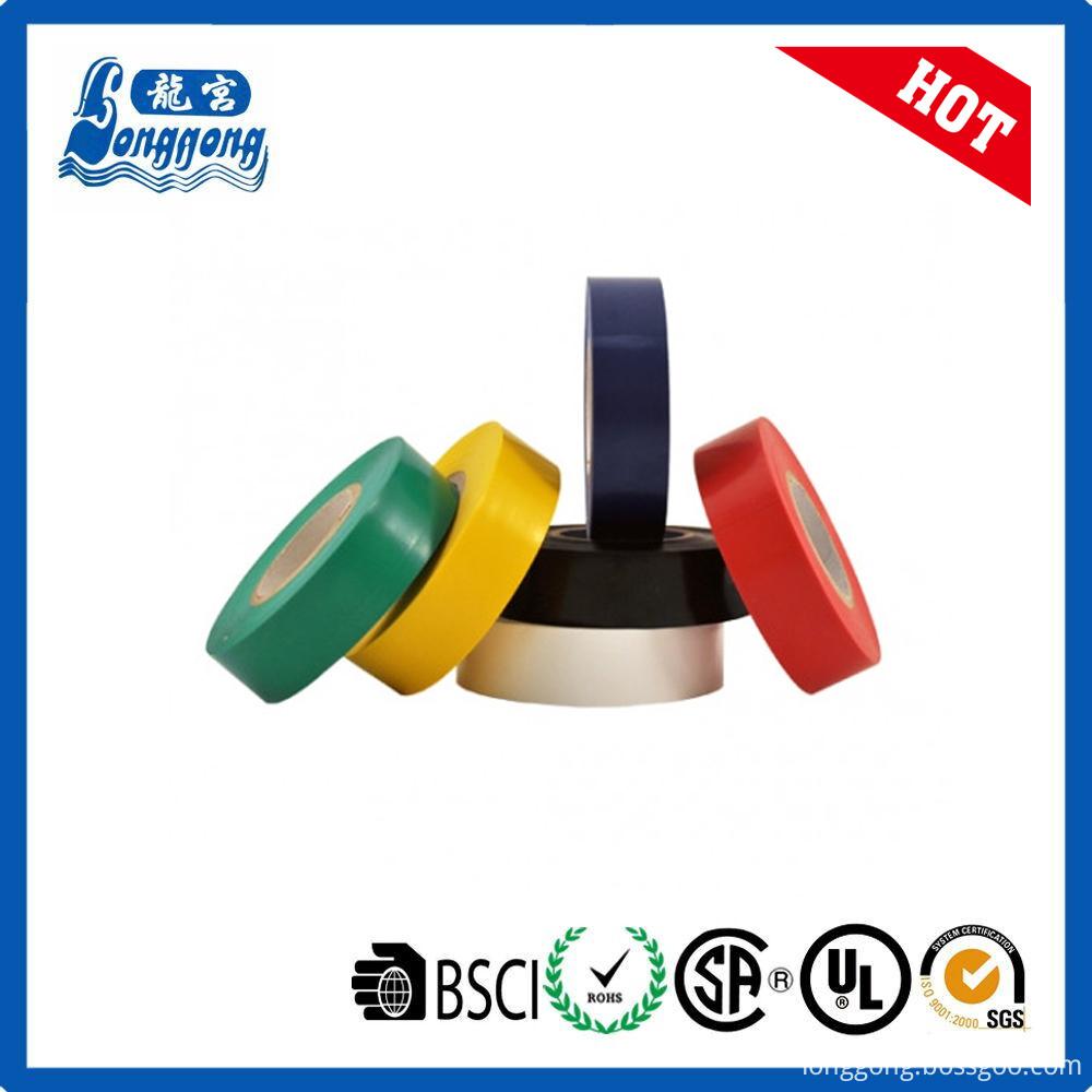Yellow pvc tape