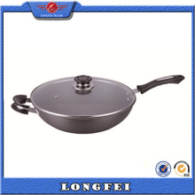 Nuevos productos 2015 Innovative Products Chinese Wok Pan