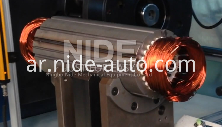stator coil final forming-machine